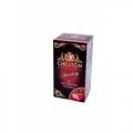 Chelton Premium чёрный чай с клубникой