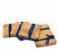 Пуэр плитка в бамбуковом листе №2  (Шу) - 250г  за 1 шт