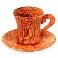 Кофейная пара (G07Lb) из кокоса