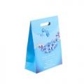 """Пакет с клапаном """"Цветы"""", голубой"""