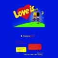 """Шоколадный пазл """"Love is"""""""