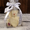 """Шоколадная фигурка """"Большой мишка с сердцем"""""""