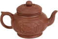 Чайник Мудрость и знание 500 мл с заварочной колбой