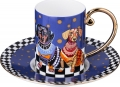 Кофейный набор на 1 пер. НАВИЮ-БЛЮ 120 мл 22-1092